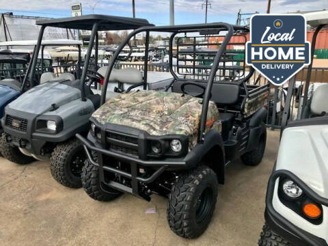 2021 Kawasaki Mule SX 4x4 XC CAMO EFI for sale at METRO GOLF CARS INC in Fort Worth TX