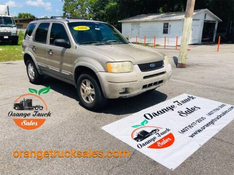 2001 Ford Escape for sale at Orange Truck Sales in Orlando FL