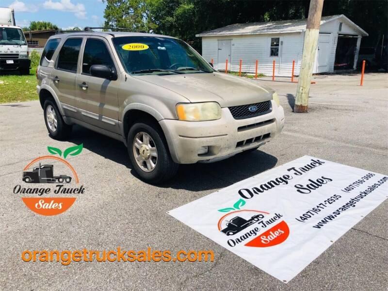 2001 Ford Escape for sale at Orange Truck Sales in Orlando FL