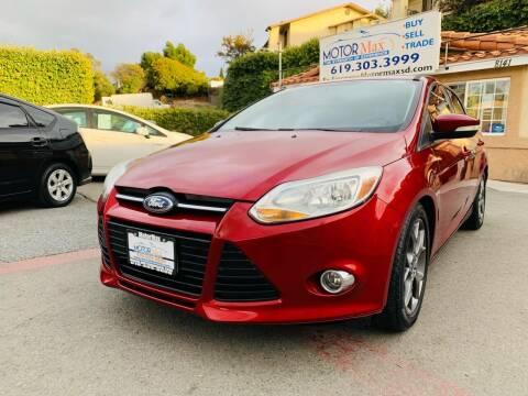 2014 Ford Focus for sale at MotorMax in Lemon Grove CA
