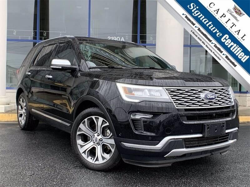 2018 Ford Explorer for sale at Capital Cadillac of Atlanta in Smyrna GA