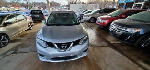 2014 Nissan Rogue for sale at Divine Auto Sales LLC in Omaha NE