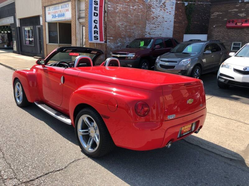 2004 Chevrolet SSR for sale at STEEL TOWN PRE OWNED AUTO SALES in Weirton WV