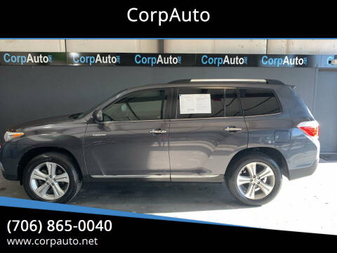 2013 Toyota Highlander for sale at CorpAuto in Cleveland GA
