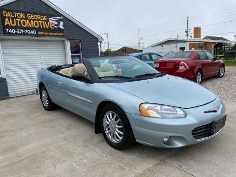 2001 Chrysler Sebring for sale at Dalton George Automotive in Marietta OH