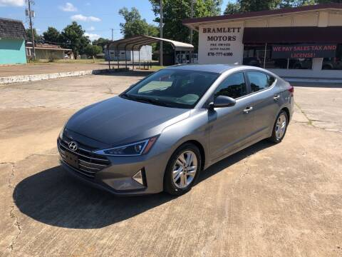 2019 Hyundai Elantra for sale at BRAMLETT MOTORS in Hope AR