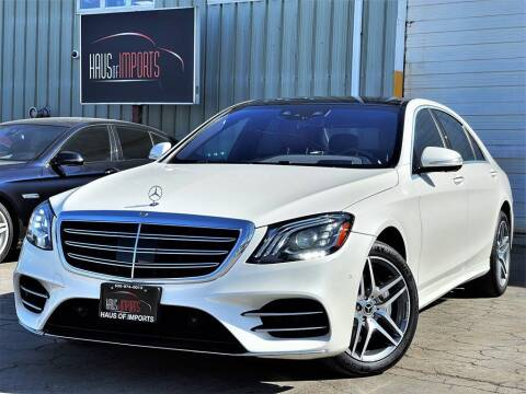 2018 Mercedes-Benz S-Class for sale at Haus of Imports in Lemont IL