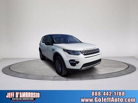 2018 Land Rover Discovery Sport for sale at Jeff D'Ambrosio Auto Group in Downingtown PA