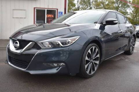 2016 Nissan Maxima for sale at DealswithWheels in Hastings MN
