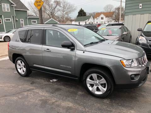 2013 Jeep Compass for sale at SHEFFIELD MOTORS INC in Kenosha WI
