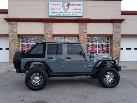 2014 Jeep Wrangler Unlimited for sale at Iconic Motors of Oklahoma City, LLC in Oklahoma City OK