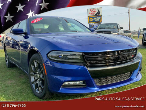 2018 Dodge Charger for sale at Paris Auto Sales & Service in Big Rapids MI