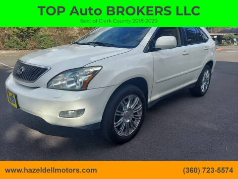 2007 Lexus RX 350 for sale at TOP Auto BROKERS LLC in Vancouver WA