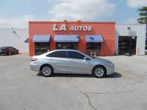 2016 Toyota Camry for sale at L A AUTOS in Omaha NE