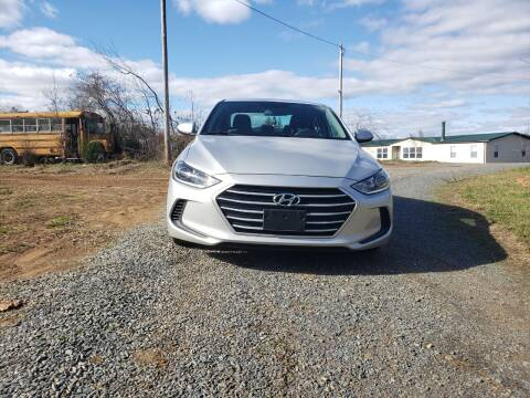2017 Hyundai Elantra for sale at Richards's Auto Sales & Salvage in Denton NC