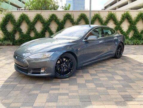 2013 Tesla Model S for sale at ROGERS MOTORCARS in Houston TX