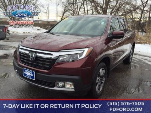 2018 Honda Ridgeline for sale at Fort Dodge Ford Lincoln Toyota in Fort Dodge IA