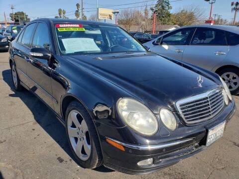 2004 Mercedes-Benz E-Class for sale at MCHENRY AUTO SALES in Modesto CA