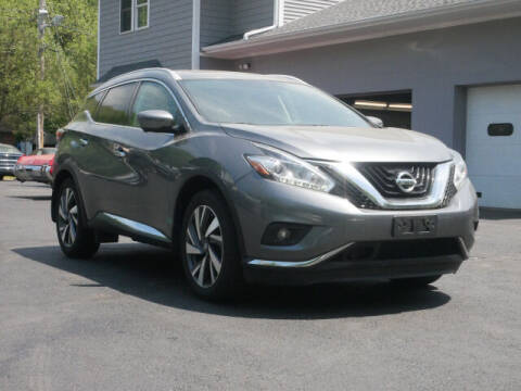 2017 Nissan Murano for sale at Canton Auto Exchange in Canton CT