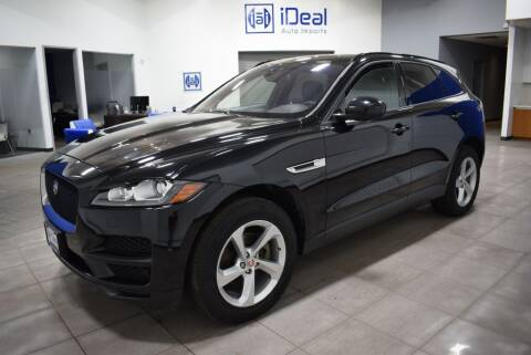 2018 Jaguar F-PACE for sale at iDeal Auto Imports in Eden Prairie MN