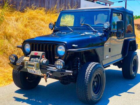 1998 Jeep Wrangler for sale at Elite Car Center in Spring Valley CA