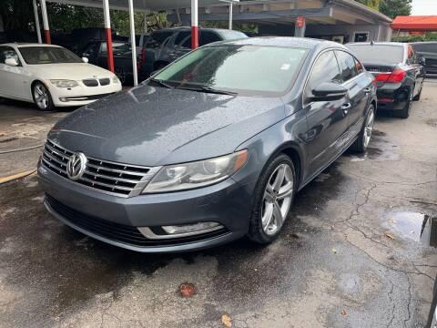 2013 Volkswagen CC for sale at America Auto Wholesale Inc in Miami FL