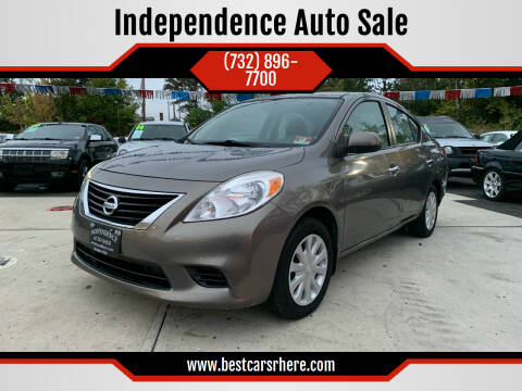 2013 Nissan Versa for sale at Independence Auto Sale in Bordentown NJ