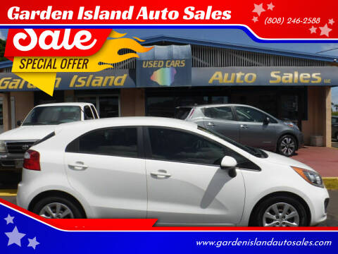 2015 Kia Rio 5-Door for sale at Garden Island Auto Sales in Lihue HI