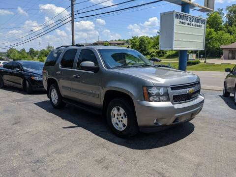 2009 Chevrolet Tahoe for sale at Route 22 Autos in Zanesville OH