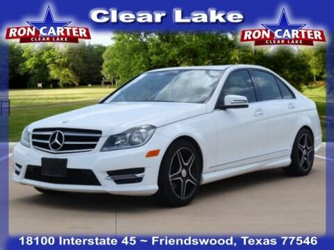 2014 Mercedes-Benz C-Class for sale at Ron Carter  Clear Lake Used Cars in Houston TX