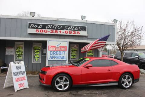 2010 Chevrolet Camaro for sale at D & B Auto Sales LLC in Washington Township MI
