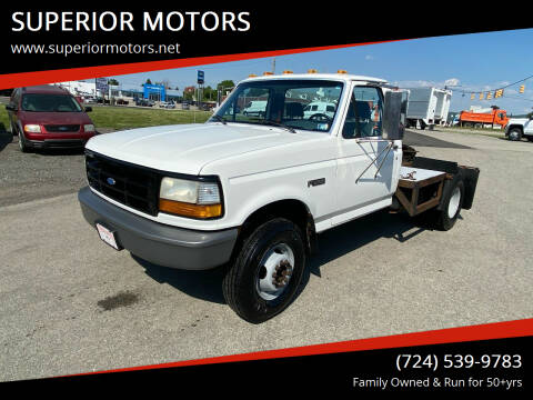 1992 Ford F-450 for sale at SUPERIOR MOTORS in Latrobe PA