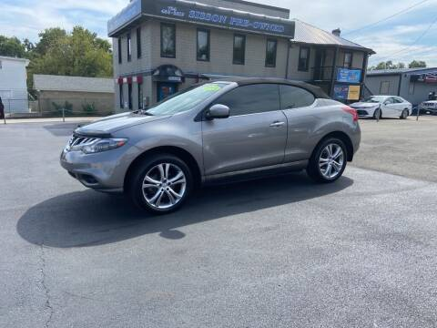 2011 Nissan Murano CrossCabriolet for sale at Sisson Pre-Owned in Uniontown PA