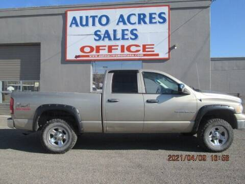 2004 Dodge Ram Pickup 1500 for sale at Auto Acres in Billings MT