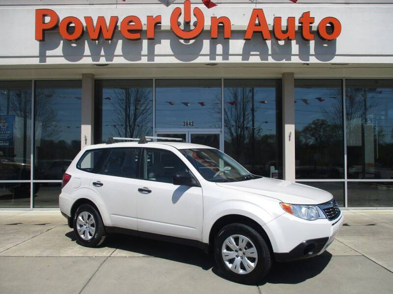 2010 Subaru Forester for sale at Power On Auto LLC in Monroe NC