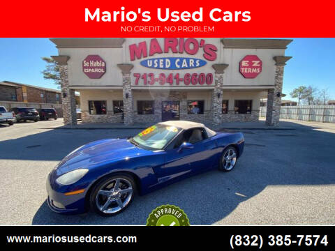 2005 Chevrolet Corvette for sale at Mario's Used Cars - Pasadena Location in Pasadena TX