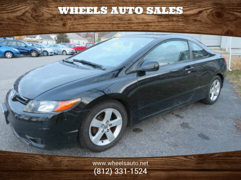 2007 Honda Civic for sale at Wheels Auto Sales in Bloomington IN