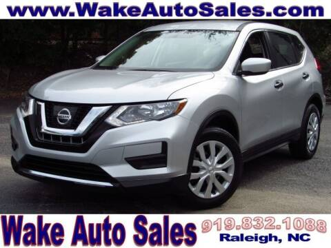 2017 Nissan Rogue for sale at Wake Auto Sales Inc in Raleigh NC