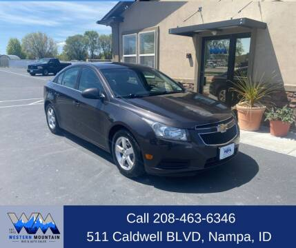 2014 Chevrolet Cruze for sale at Western Mountain Bus & Auto Sales in Nampa ID