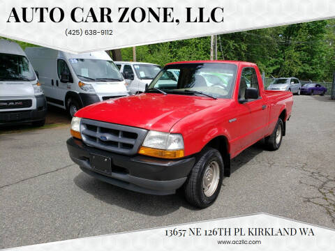1998 Ford Ranger for sale at Auto Car Zone, LLC in Kirkland WA