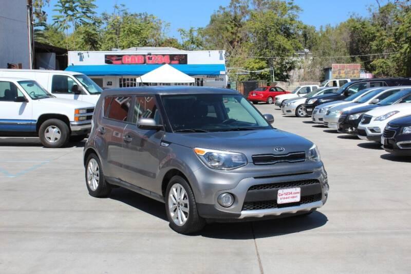 2018 Kia Soul for sale at Car 1234 inc in El Cajon CA