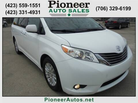 2011 Toyota Sienna for sale at PIONEER AUTO SALES LLC in Cleveland TN