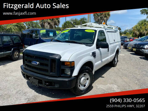 2008 Ford F-250 Super Duty for sale at Fitzgerald Auto Sales in Jacksonville FL