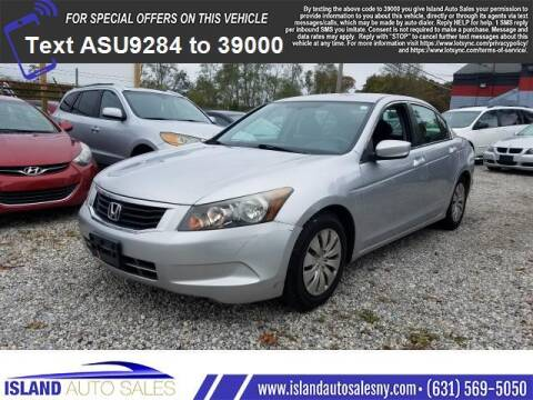 2010 Honda Accord for sale at Island Auto Sales in E.Patchogue NY