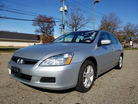 2007 Honda Accord for sale at Premium Motors in Rahway NJ