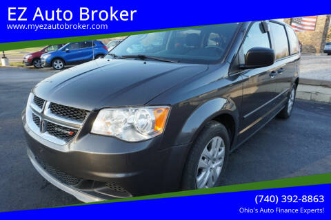 2016 Dodge Grand Caravan for sale at EZ Auto Broker in Mount Vernon OH