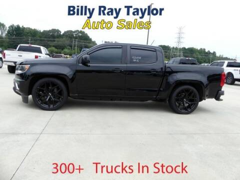 2016 Chevrolet Colorado for sale at Billy Ray Taylor Auto Sales in Cullman AL