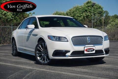 2017 Lincoln Continental for sale at Van Griffith Kia Granbury in Granbury TX