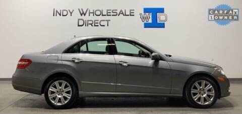 2012 Mercedes-Benz E-Class for sale at Indy Wholesale Direct in Carmel IN
