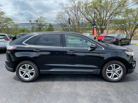 2017 Ford Edge for sale at MAGNUM MOTORS in Reedsville PA